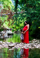 Desi maternity photos in Austin
